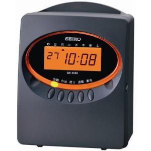 セイコープレシジョン タイムレコーダー QR-4550グレー QR-4550G natsumestore