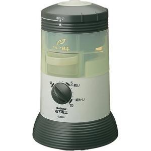 パナソニック 家庭用臼式お茶粉末器 すりかた調節機能付タイプ 緑 EU6820-G(中古品)|natsumestore
