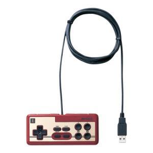 (中古品) iBUFFALO USB接続 8ボタンゲームパッド デジタル 連射機能付 ファミコン風 ...