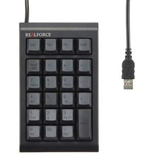 (中古品) 東プレ テンキー  REALFORCE23UB USB 有線接続 静電容量無接点方式 ケ...