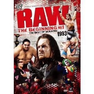 (中古品) WWE RAW ザ・ビギニング Vol.1 1993 [DVD]  【メーカー名】 東宝...