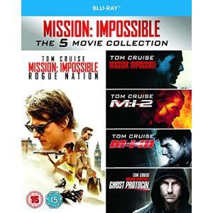 Mission Impossible 1-5 [Blu-ray] [UK Import](中古品)|natsumestore