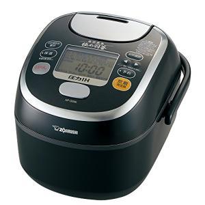 (中古品)象印 炊飯器 3.5合 圧力IH式 南部鉄器極め羽釜 プライムブラック NP-QS06-B|natsumestore