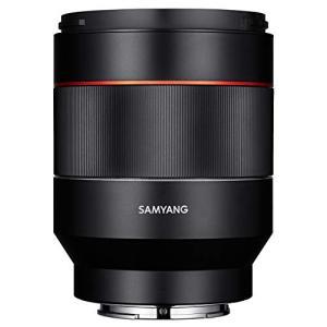 SAMYANG 単焦点標準レンズ AF 50mm F1.4 ソニー αE用 フルサイズ対応 ブラ