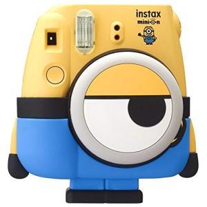 (中古品) FUJIFILM インスタントカメラ チェキ instax mini8 「ミニオン」 I...