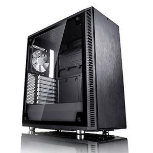 Fractal Design Define C, Black, Tempered Glass ミドル...