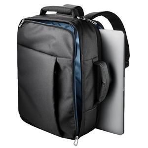 (中古品) エレコム パソコンバッグ ビジネスバッグ キャリングバッグ A4対応 3WAYバッグ (...