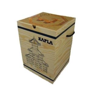 (未使用並行輸入)積木・KAPLA(カプラ) カプラ280(白木)+デザインブック(初級・茶) 『|natsumestore