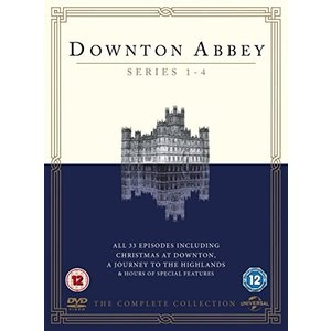 (未使用品)Downton Abbey - Series 1-4 [DVD] [Import]