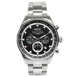(未使用並行輸入)[シャルルホーゲル]Charles Vogele 腕時計 ウォッチ クロノグラフ ビジネス|natsumestore
