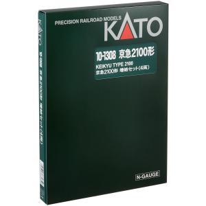 KATO Nゲージ 京浜急行 2100形 増結 4両セット 10-1308 鉄道模型 電車(未使用の...