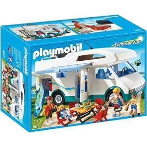 (未使用品) PLAYMOBIL (プレイモービル) キャンピングカー 6671 [並行輸入品]  ...