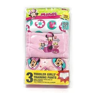 (未使用の新古品) ディズニー ミニーマウス 女の子 トイレトレーニングパンツ3枚セット (95-1...