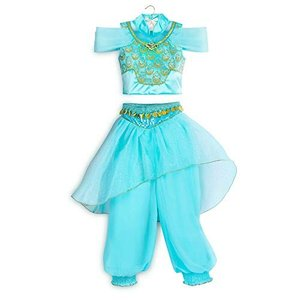 Disney(ディズニー) ジャスミン コスチューム ドレス ガールズ サイズ9/10((未使用の新古品) natsumestore