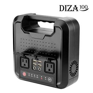 (未使用品) DIZA100 ポータブル電源 正弦波 大容量60000mAh/220Wh 300W ...