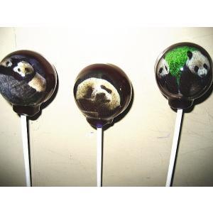 とびだす、ジャイアンツパンダ、「ロン」、ローリィポップキャンデイです|natukashiya-honp