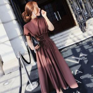 パーティードレス レース ワンピース 結婚式 服装 40代 女性 ドレス レディース 30代