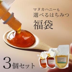 マヌカハニー UMF5+(MGO100+、NPA5+  相当)も選べる はちみつ最大375g 福袋 計11種から選べる 3袋セット 蜂蜜 ハチミツ メール便A TSG
