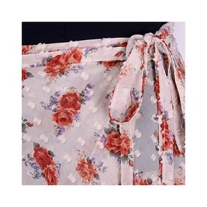 Flower柄巻きスカート(15インチ)|natural-bijin