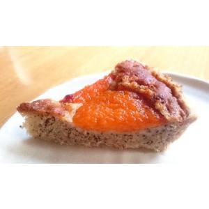 杏と紅茶のタルト 18cm マクロビ アレルギー対応 卵・乳不使用 白砂糖不使用|natural-fukurou