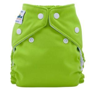 ファジバンズ ポケット布おむつ 新生児〜8kg アップルグリーン|natural-living