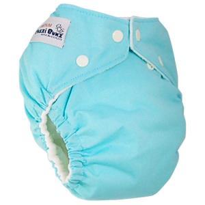 ファジバンズ ポケット布おむつ 新生児〜8kg アクア|natural-living