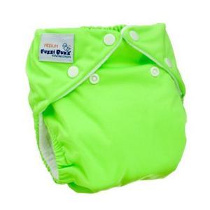 ファジバンズ ポケット布おむつ 新生児〜8kg ライム|natural-living