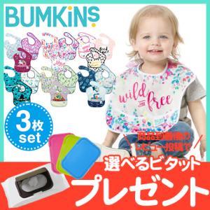 バンキンス (Bumkins) スーパービブ 3枚パック 6ヶ月〜2歳 Special design natural-living