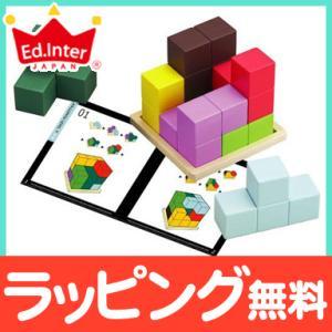 エドインター [知の贈り物] 賢人パズル 知育玩具 木製玩具 脳トレの画像