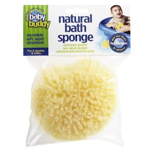 Baby Buddy ベビーバディ Natural Bath Sponge ナチュラル バス スポンジ 天然海綿/おふろグッズ|natural-living