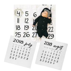 Modern Burnlap モダンバーラップ モノクロモスリンスワドル カレンダー おくるみ オーガニックコットン|natural-living