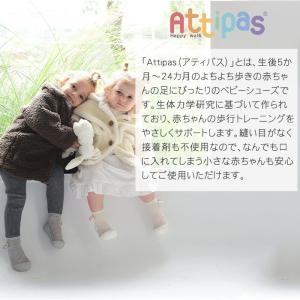 Attipas (アティパス) コサージュ ピンク 11.5cm ベビーシューズ ファーストシューズ トレーニングシューズ|natural-living|10
