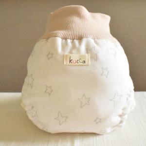 kucca クッカ パンツ型布おむつカバー ベリーズドッツ Lサイズ (10kg〜) パンツ型 トイレトレーニング|natural-living