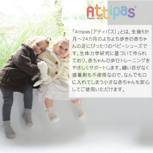 Attipas (アティパス) レインボー ベビーシューズ ファーストシューズ トレーニングシューズ|natural-living|03