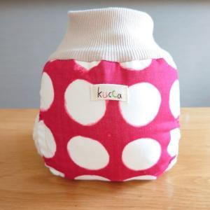 kucca クッカ パンツ型布おむつカバー いたずらっ子サークル Lサイズ (10kg〜) パンツ型 トイレトレーニング|natural-living