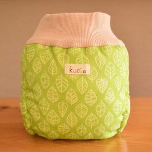 kucca クッカ パンツ型布おむつカバー 虹のHAPPYウェーブ Mサイズ (7〜10kg) パンツ型 トイレトレーニング|natural-living