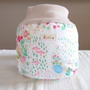 kucca クッカ パンツ型布おむつカバー こぐまのパンケーキ Lサイズ (10kg〜) パンツ型 トイレトレーニング natural-living