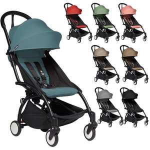 ベビーゼン ヨーヨーツー YOYO2 ベビーカー シックスプラス ブラックフレーム babyzen ...