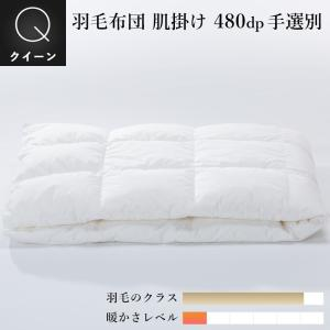羽毛肌掛け布団 クイーン210x210cm 収納袋付 手選別グース natural-sleep