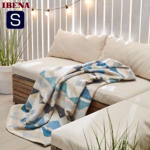 ドイツIBENAブランケット 綿毛布 Art.2154 Col.360 オーガニックコットン100% シングルサイズ:商品重量1,300g natural-sleep
