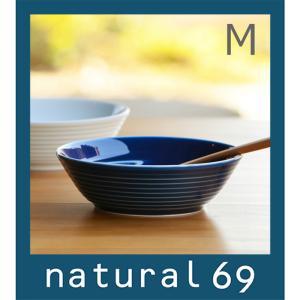 和食器 おしゃれ 波佐見焼 白山陶器 ボウル COMMO コモ ボール(中) ブルー 中鉢|natural69