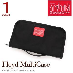 Manhattan Portage マンハッタンポーテージ トラベルケース カードケース メンズ レディース MP1071 Floyd Multi case naturalberry