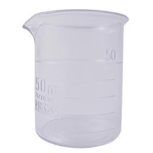 プラスチック ビーカー 50ml (耐熱樹脂) (ポスト投函不可) naturalcosmetic