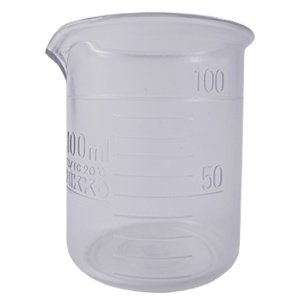 プラスチック ビーカー 100ml (耐熱樹脂) (ポスト投函不可) naturalcosmetic