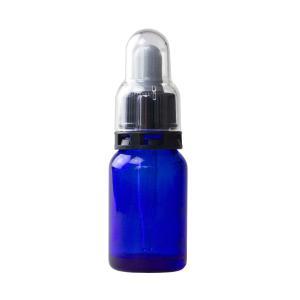 スポイト・セキュリティ付き 細口青ガラス瓶 10ml (メール便不可)|naturalcosmetic