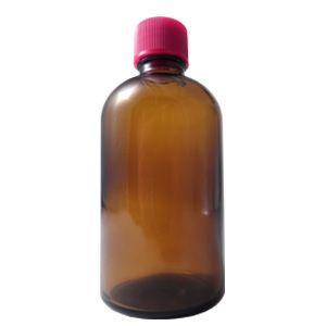 細口ガラス瓶 120ml (穴あき中栓) (ポスト投函不可)|naturalcosmetic