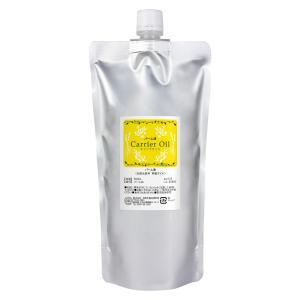 パーム油 精製パームオイル 500ml アルミパウチ入り (マッサージオイル スキンケア 美容オイル 精製)|naturalcosmetic