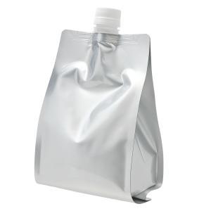 キャップ付 アルミガゼット(スタンド)袋 1000ml (メール便選択可)|naturalcosmetic