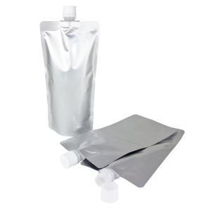 キャップ付 アルミガゼット(スタンド)袋 500ml (3袋セット) (ポスト投函選択可)|naturalcosmetic