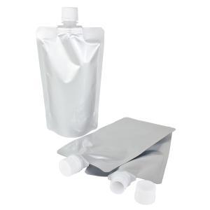 キャップ付 アルミガゼット(スタンド)袋 300ml (3袋セット) (ポスト投函選択可)|naturalcosmetic